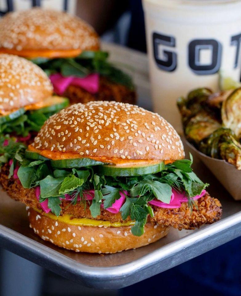 Gott's Roadside Chicken-Schnitzel Sandwich