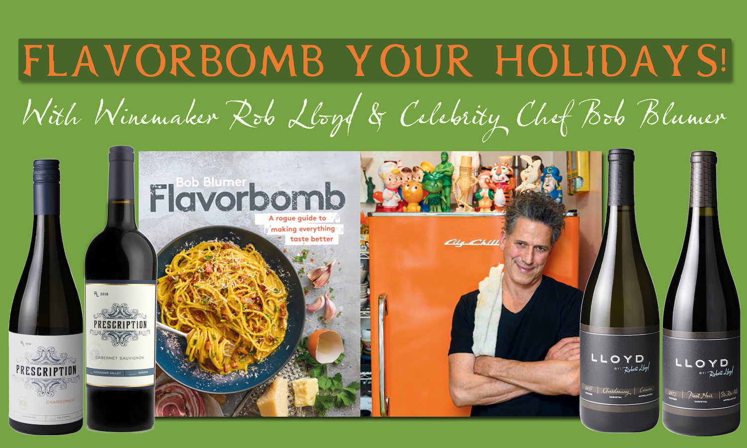 Flavorbomb Your Holidays Offer