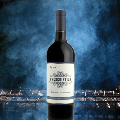 Prescription Cabernet Sauvignon with BBQ
