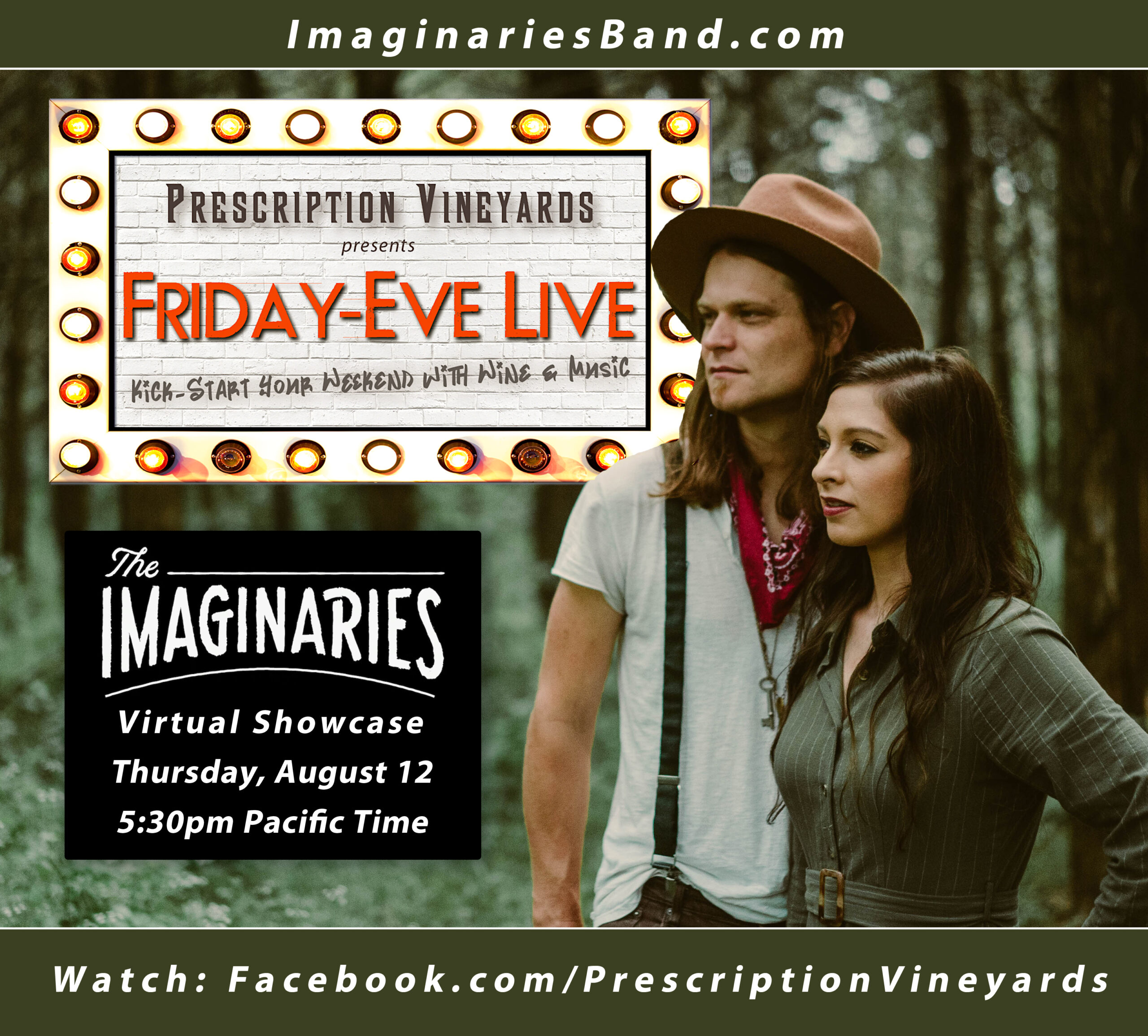 Friday-Eve Live - The Imaginaries