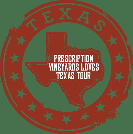 Prescription Vineyards In-Market Visit Events Include San Antonio, Austin & Dallas this November!